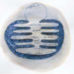 'célula poética del 19 de Junio del 2007' . 'poetic cell of 19th June 2007' . ink and watercolour on paper . 21 x 30 cm . 2007