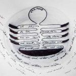 'células poéticas del mes de marzo' . 'poetic cells for march' . ink on paper . 21 x 30 cm . 24.3.2008